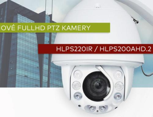 Nové FullHD PTZ kamery