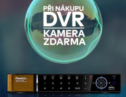 K DVR kamera zdarma!