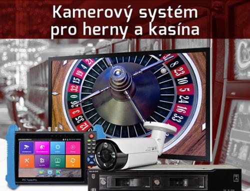 Kamerový systém pro herny a kasína