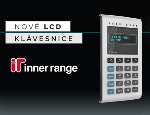 Nové LCD klávesnice Inner Range