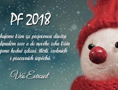 PF 2018  a otevírací doba během Vánoc