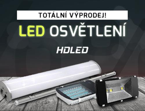 Totální výprodej LED osvětlení