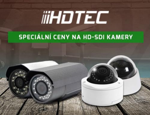 HD-SDI kamery nyní za skvělé ceny!
