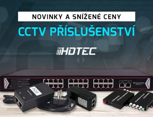 Novinky vnabídce CCTV příslušenství
