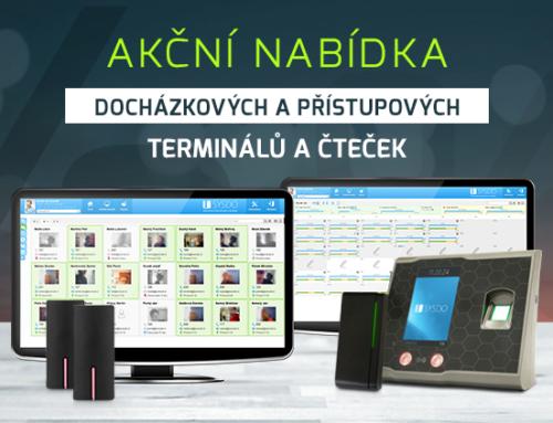 Akční nabídka docházkových a přístupových terminálů