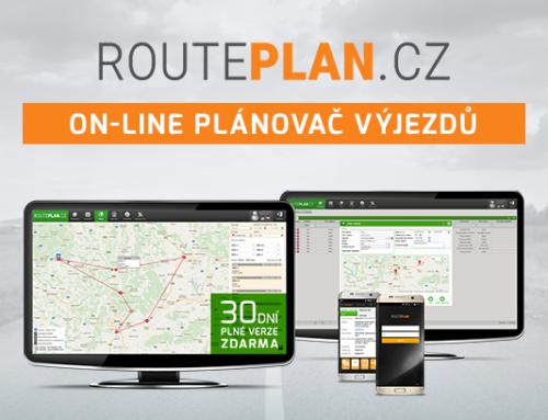 On-line plánovač výjezdů Routeplan.cz