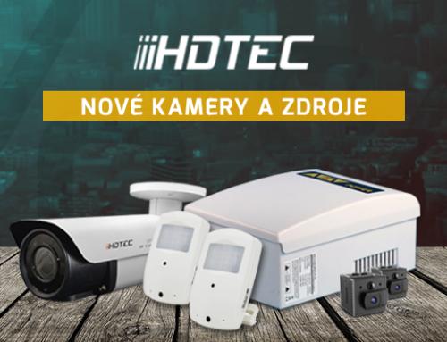 Nové kamery a zdroje HDTEC