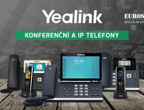 Nové telefony a konferenční systémy Yealink