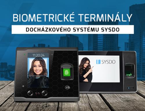 Biometrické terminály docházkového systému SYSDO
