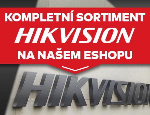 Kompletní sortiment HikVision