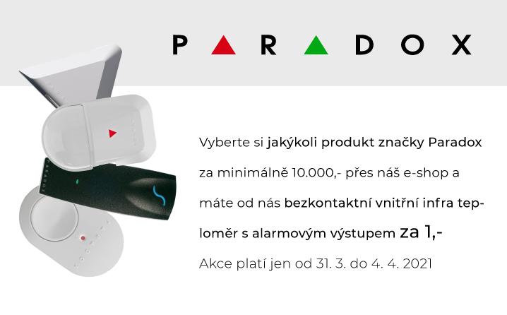 Nakupte PARADOX a dostanete dárek