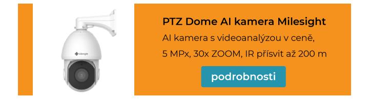 AI kamera PTZ Dome Milesight