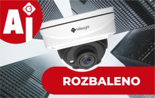 kamera Milesight video unboxing umela inteligence kamerový systém