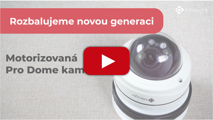 video Milesight rozbalili jsme kameru unboxing umělá inteligence zabezpečovací systém videodohled