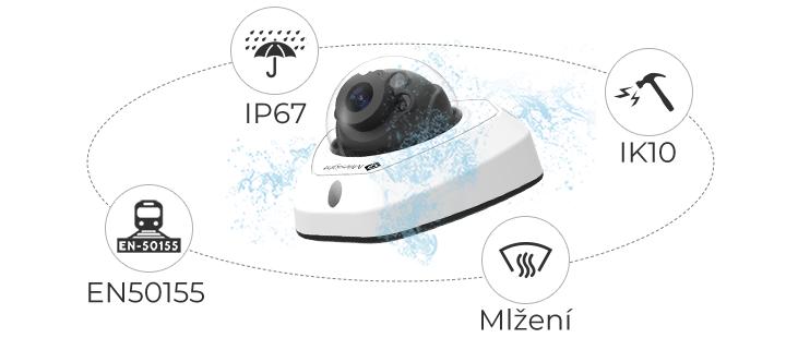 kamery Milesight Eurosat CS zabezpečovací technologie