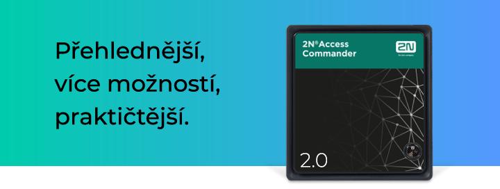 2N Eurosat Access commander nový software 2.0
