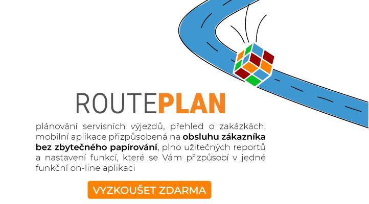 Plánování servisních výjezdů Routeplan