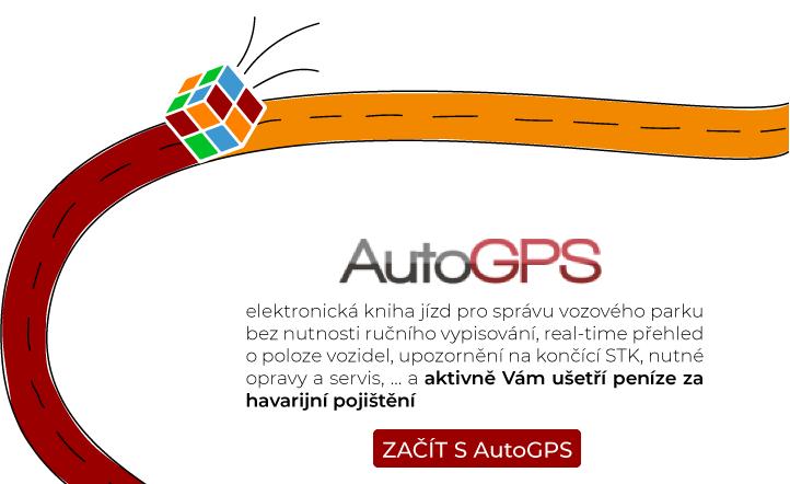Elektronická kniha jízd AutoGPS