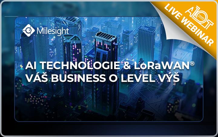Milesight česká repuublika Eurosat CS distributor Milesight videodohled CCTV AI technologie umělá inteligence v kamerách v zabezpečení firmy