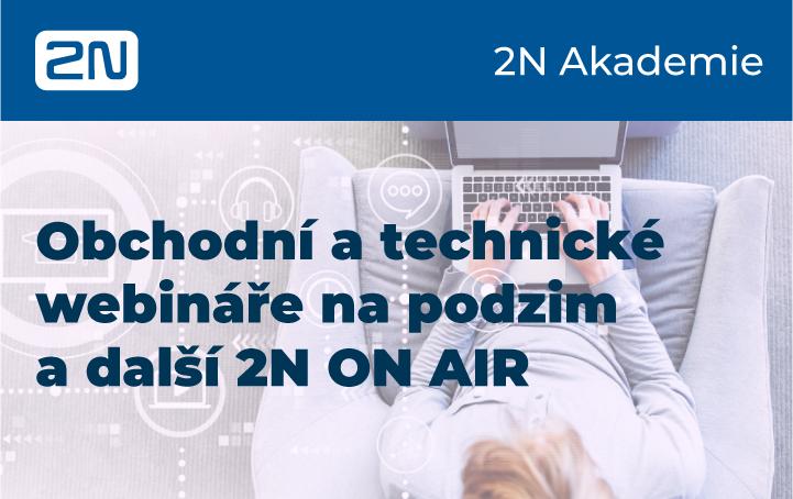 Listopadová školení webináře 2N a 2N ON AIR