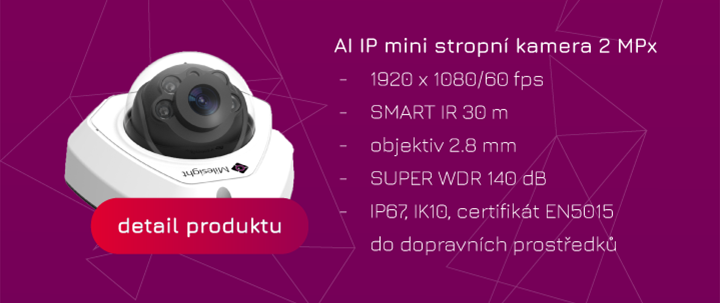 CCTV s umělou inteligencí kamery Milesight Eurosat CS