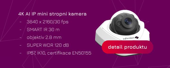 e-shop Eurosat CS zabezpečení kamery mini IP kamera umělá inteligence