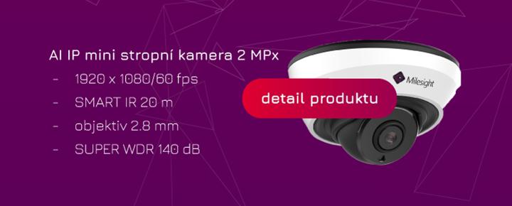 mini IP kamera s AI nákup on-line Eurosat CS levně