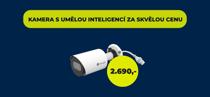 kamera s umělou inteligencí Milesight výhodně