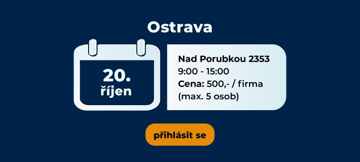 školení říjen CCTV Ostrava