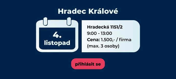 školení CCTV listopad Hradec Králové